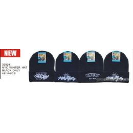 Nyc Logo Winter Hats 48 pack