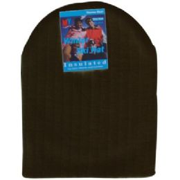 Unisex Winter Ski Hat Black Only 144 pack