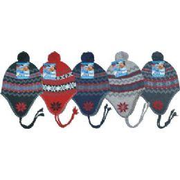 Ladies Fleeced Lined Helmet Hat 96 pack