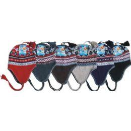 Unisex Fleeced Lined Helmet Hat