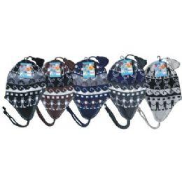 Unisex Fleeced Lined Helmet Hat 96 pack