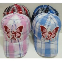 Plaid Hat With Fairy