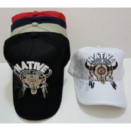 Native PridE-Bull Skull With Shadow 24 pack