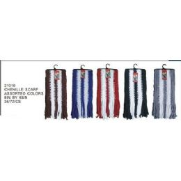 Chenille Scarf 144 pack