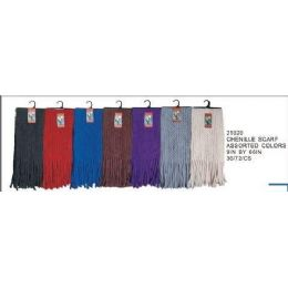 Chenille Scarf 72 pack
