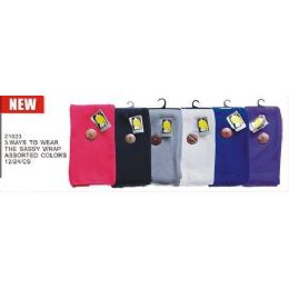 3 Ways To Wear Sassy Scarf 24 pack