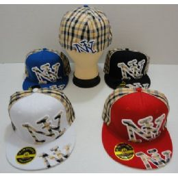 Fitted HaT-- Plaid ny