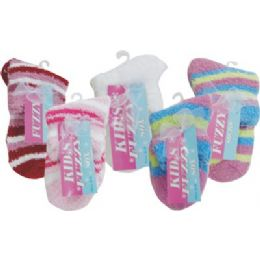 Kids Fuzzy Sock 144 pack