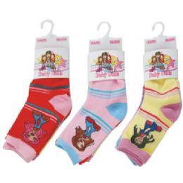 3 Pack Of Kids Socks