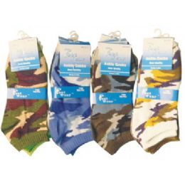 3 Pack Of Ladies Ankle Sock Size 9-11