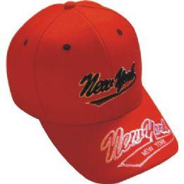 Ny Baseball Cap 48 pack