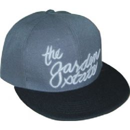 Flat Fitted Baseball Cap With Nj Garden State Design 48 pack