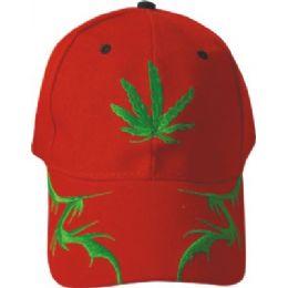 Marijuana Baseball Cap 48 pack