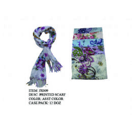 Womans Fashion Scarf 72 pack