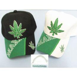 New Marijuana Baseball Cap Hat 24 pack
