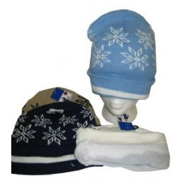 Fleece Lined Acrylic Winter Hat