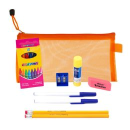 9 Piece Wholesale Kids School Supply Kit