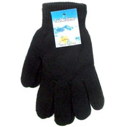 Black Magic Gloves Large Size One Size Fits All Stretch Magic Winter G