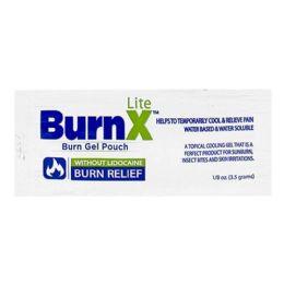 Cooling Gel - Burnx Lite First Aid Cooling Gel Packet 1/8 Oz. Foil Packet