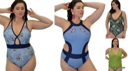 Yacht & Smith Plus Size Womens Assorted Bathing Suit Lots Limited Supply