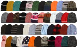 Yacht & Smith Winter Hat Beanies For Adults, Mixed Colors And Styles Assortment, Unisex