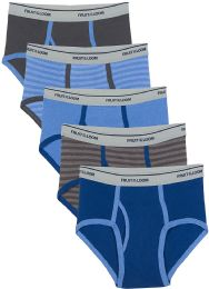Boys Cotton Assorted Color And Sizes Briefs - Sizes S-XL Assorted