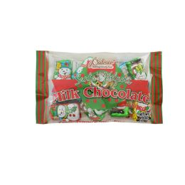 PALMER MILK CHOCOLATE CHRISTMAS SANTA HELPER 4.5 OZ 24 pack