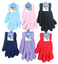 Women's Fuzzy Gloves 60 pack
