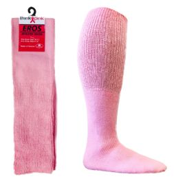 Pink Football Socks for 3787 - Men's Size 10-13 48 pack