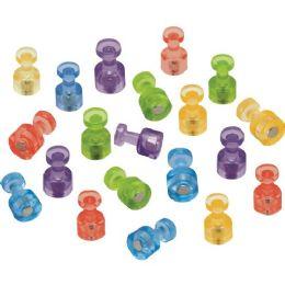 Quartet Assorted Color Magnetic Push Pins