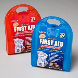 First Aid Kit 37 Pcs In Plastic Case 33 pack