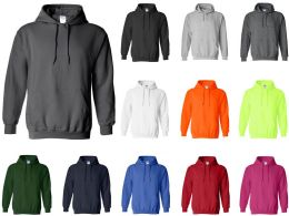 Gildan Adult Hoodies Assorted Color And Sizes