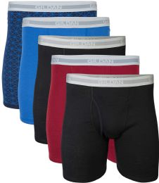 Gildan Mens Imperfect Boxer Briefs, Assorted Colors And Sizes Bulk Buy