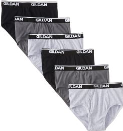 Gildan Mens Imperfect Briefs, Assorted Colors And Sizes 72 pack