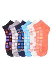Girls Tile Printed Ankle Socks 432 pack