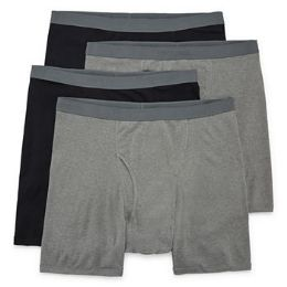 Men's Fruit Of The Loom Boxer Brief (mid Rise), Size M 72 pack