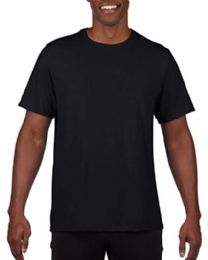 Mens Cotton Crew Neck Short Sleeve T-Shirts Black, XxX-Large
