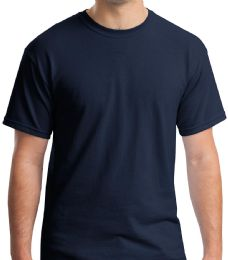 Mens Cotton Crew Neck Short Sleeve T-Shirts Navy, XxX-Large 36 pack