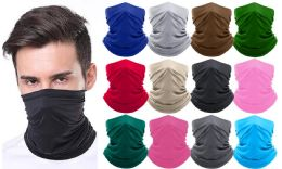 Moisture-Wicking Breathable Cooking Gaiter Stretch Face Mask Bandanna Scarf MADE IN THE USA 36 pack