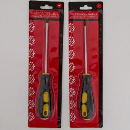 Screwdriver Phillips And Flat Screwdriver Set 2pc 24 pack