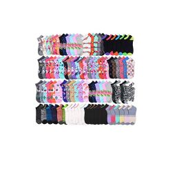 Size 9 -11 Socks Women's Low Cut, No Show Footies 144 pack