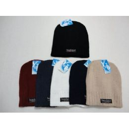 Thermal Insulate Beanie-Solid Colors 144 pack