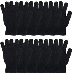 Yacht & Smith Unisex Black Magic Gloves 72 pack