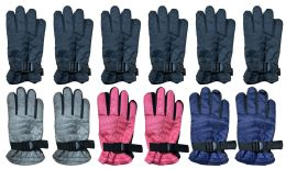 Yacht & Smith Kids Thermal Sport Winter Warm Ski Gloves 72 pack