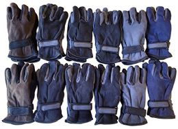 Yacht & Smith Men's Fleece Gloves 12 pack