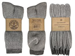 Yacht & Smith Terry Lined Merino Wool Thermal Boot Socks For Men And Woman Mix Case Set 240 pack