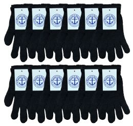 Yacht & Smith Unisex Black Magic Gloves BULK BUY 240 pack
