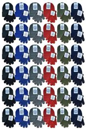 Yacht & Smith Wholesale Kids Beanie and Glove Sets (Beanie Glove Set, 96) 96 pack