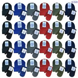 Yacht & Smith Wholesale Kids Beanie and Glove Sets (Beanie Mitten Set, 48) 48 pack