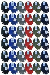 Yacht & Smith Wholesale Kids Beanie And Glove Sets Ages 2-8 144 pack